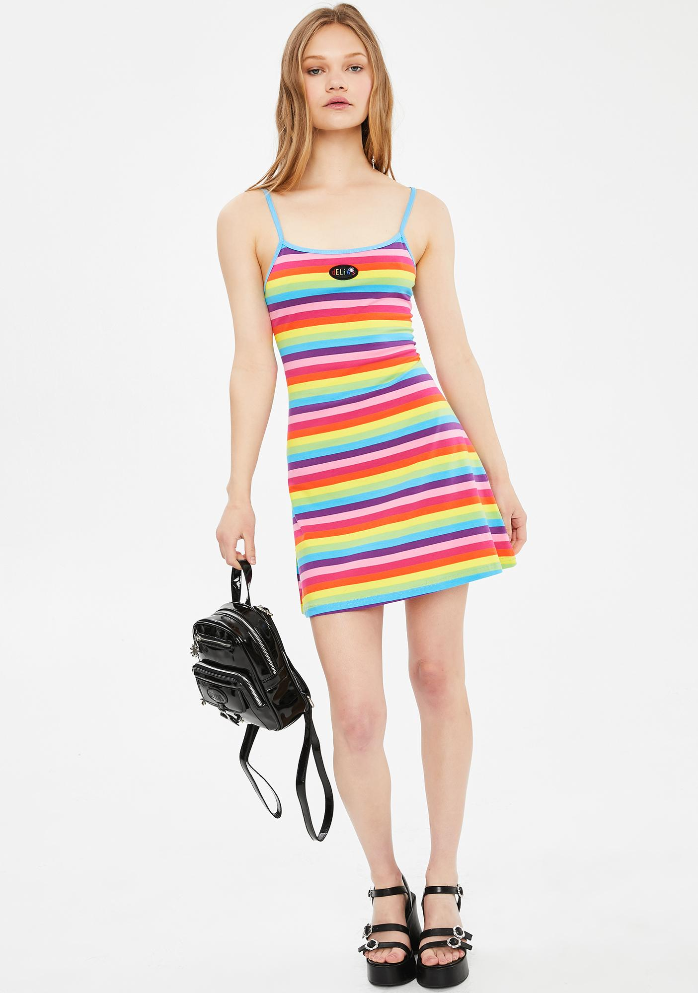 dELiA*s by Dolls Kill Dare To Dream Striped Dress