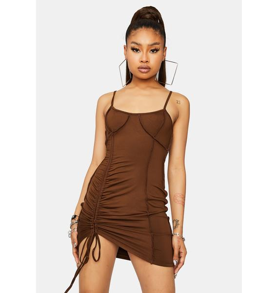 Millionaire Moves Ruched Bodycon Dress