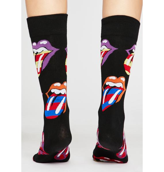 Rockin' N' Rollin' Crew Socks