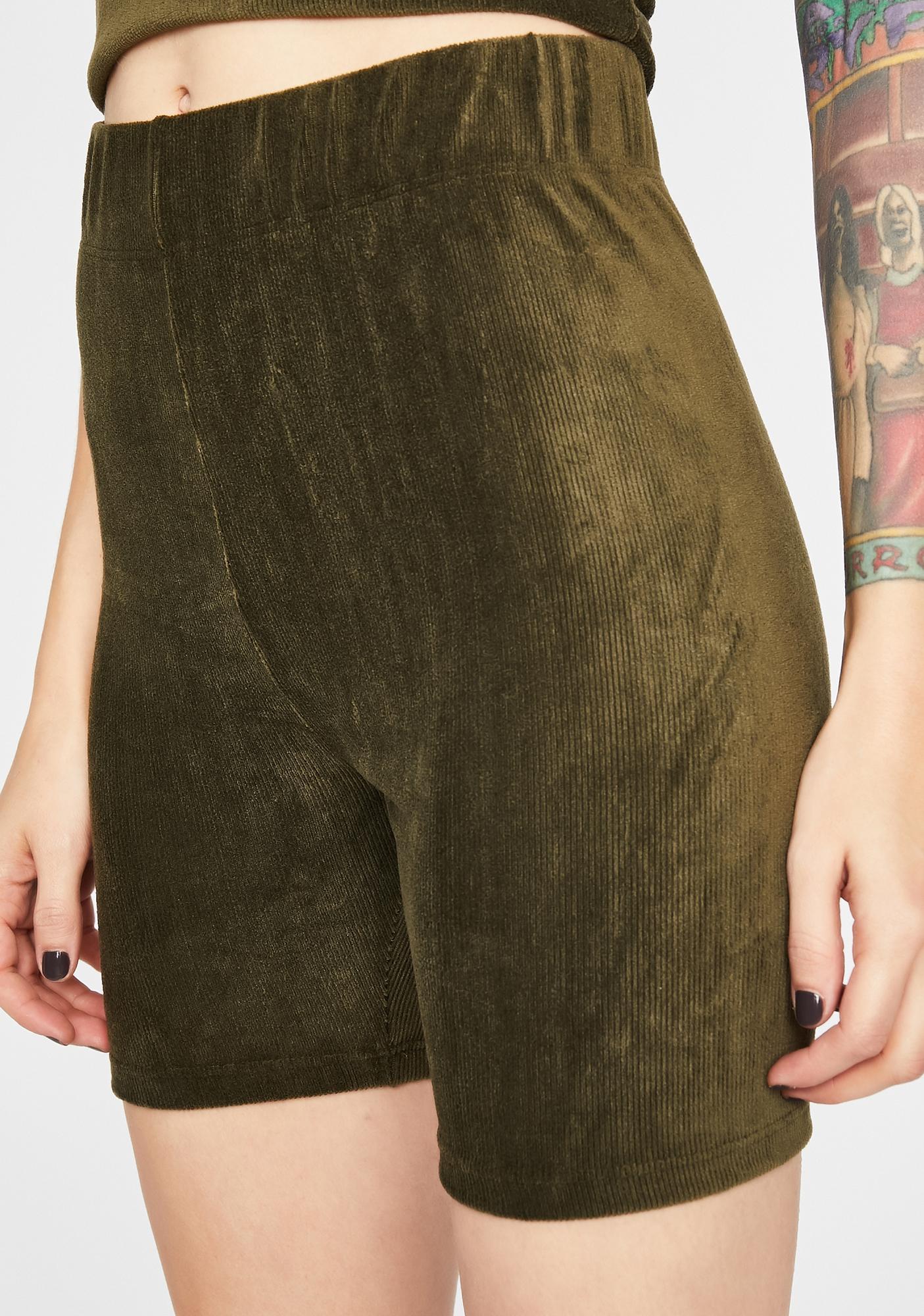 Soft Edge Biker Shorts