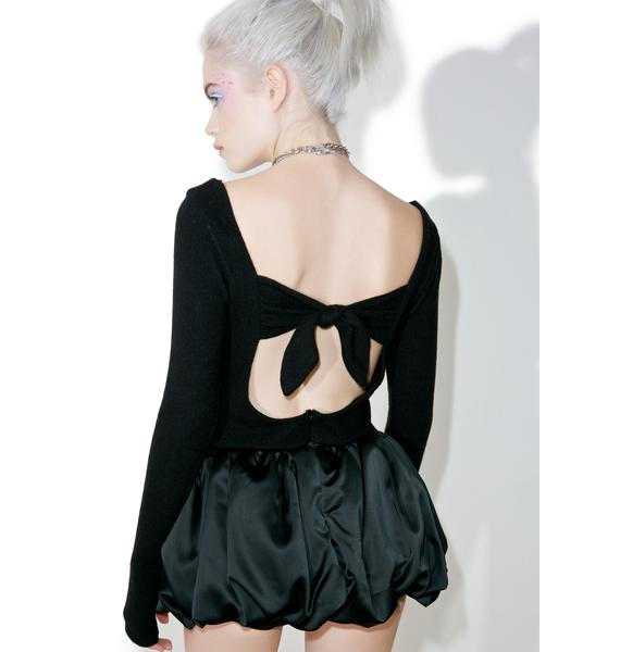 Fete Noir Love Angeles Playsuit
