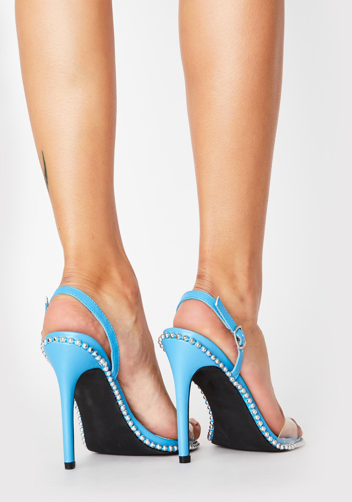 Aqua Miss Vixen Studded Heels