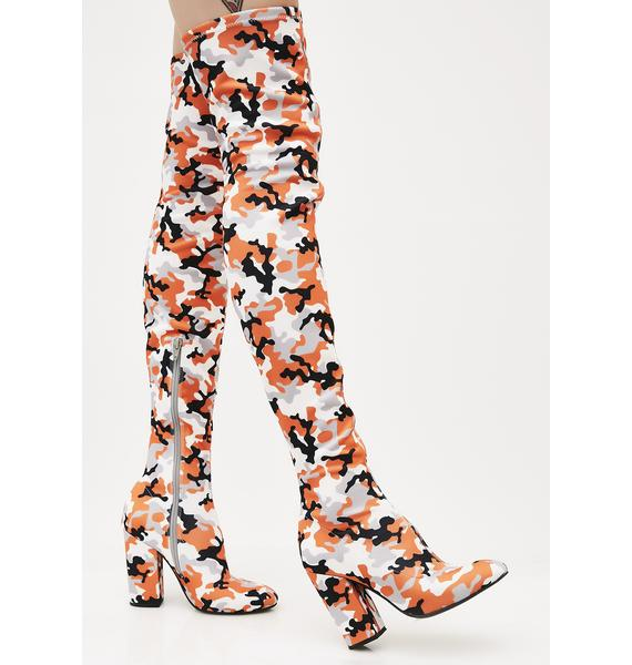 Poster Grl Surprise Attack Thigh-High Boots