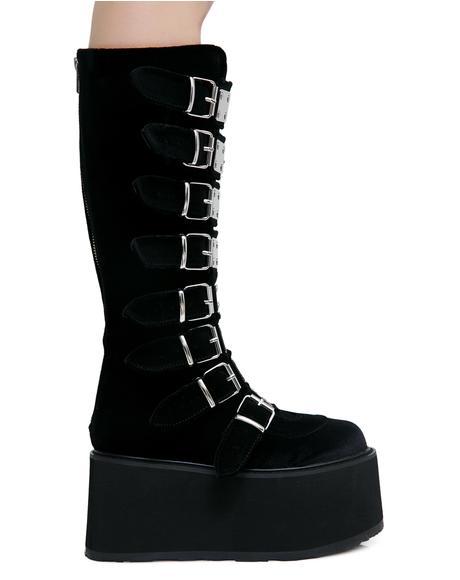 Velvet Morpheus Platform Boots