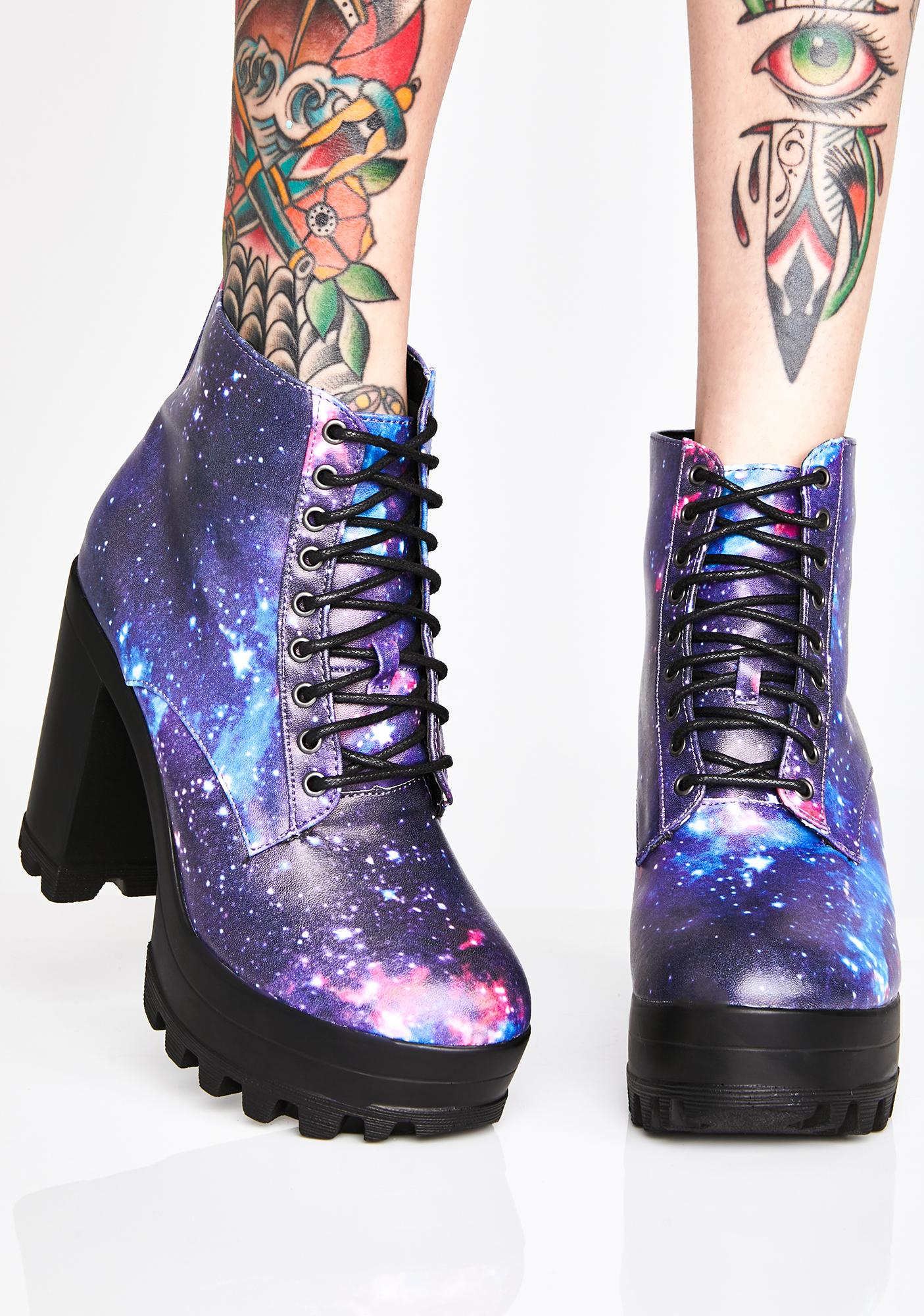 Cosmic Levitation Platform Booties
