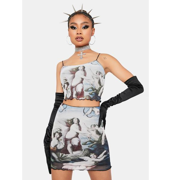 Venus Delight Mini Skirt