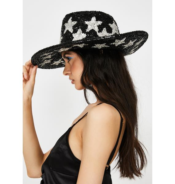 Replay Vintage Sunglasses Sequin Star Hat