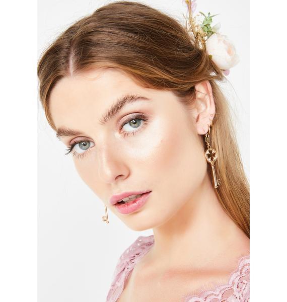 Hot Key Earrings