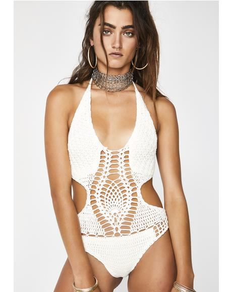 Foxy Lady Crochet One Piece