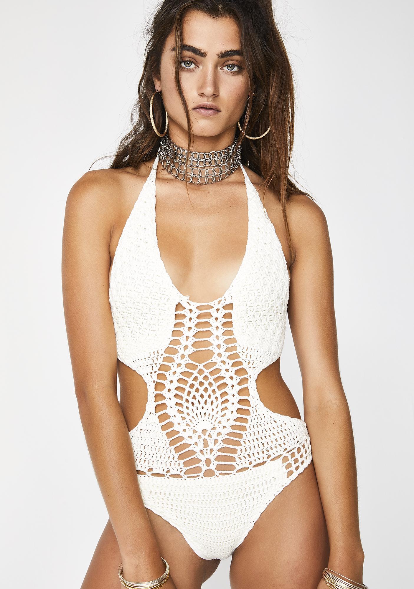 Foxy Lady Crochet One Piece