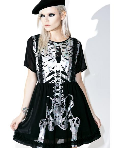Wishbone Halo Dress