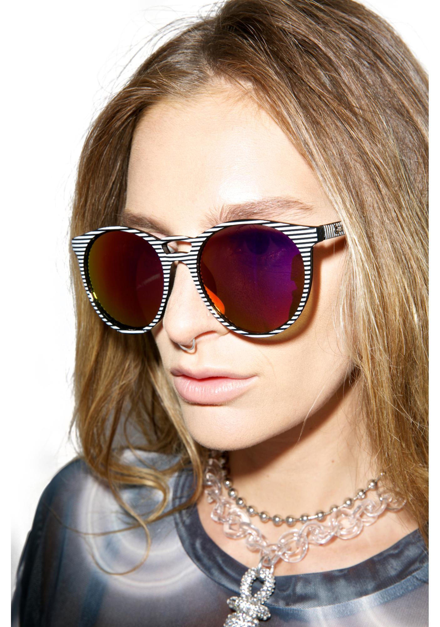 Quay Eyeware All Cried Out Sunglasses