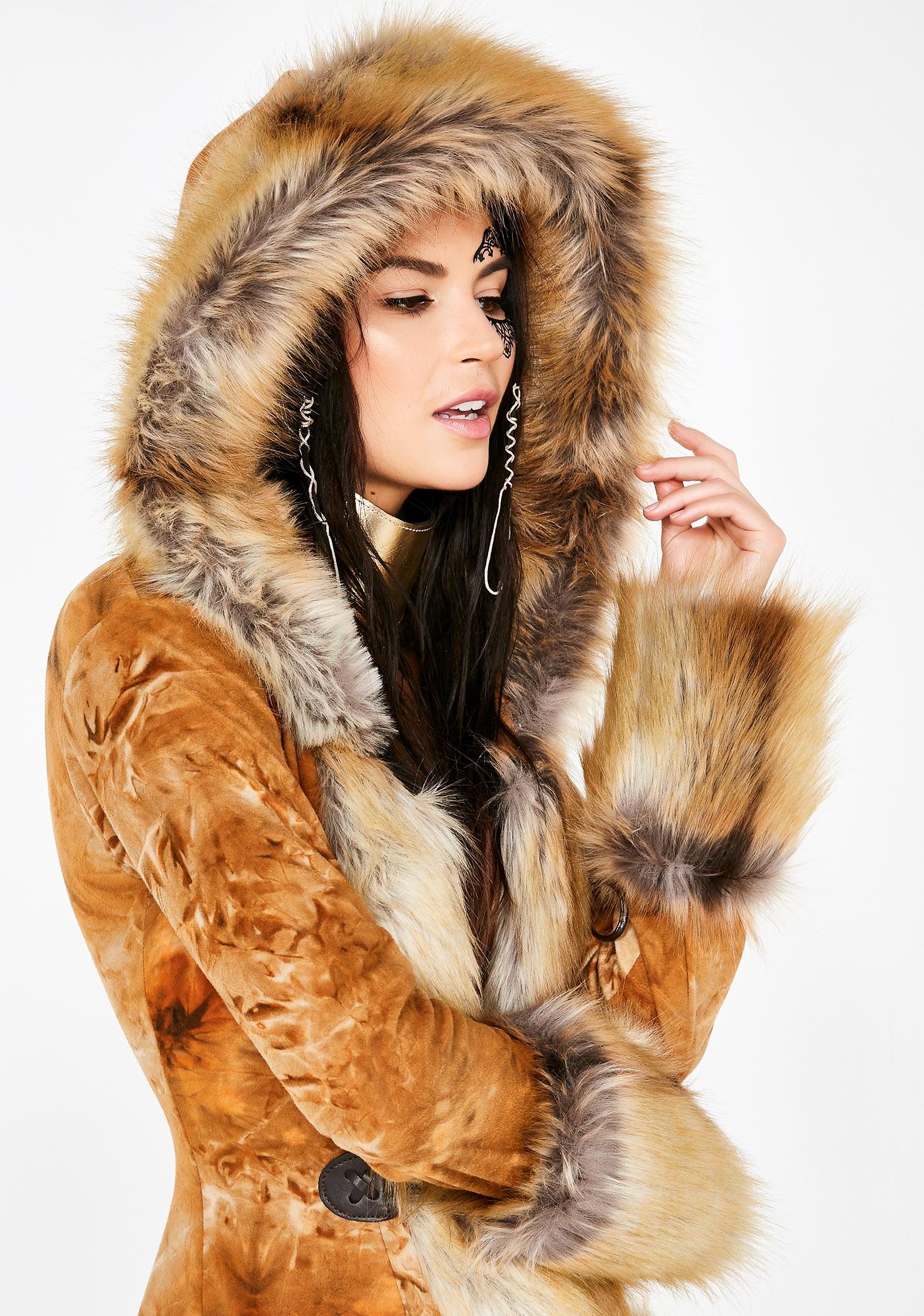 J Valentine Cocoa Eskimo Kisses Mohair Jacket