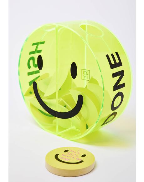 Smiley Face Wish Box