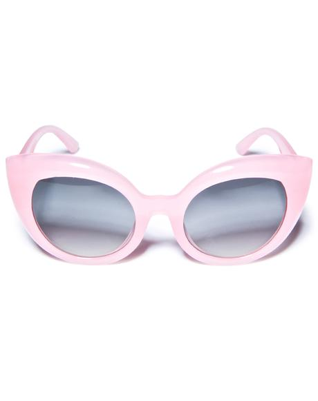 The Cotton Candy Diamond Brunch Sunglasses
