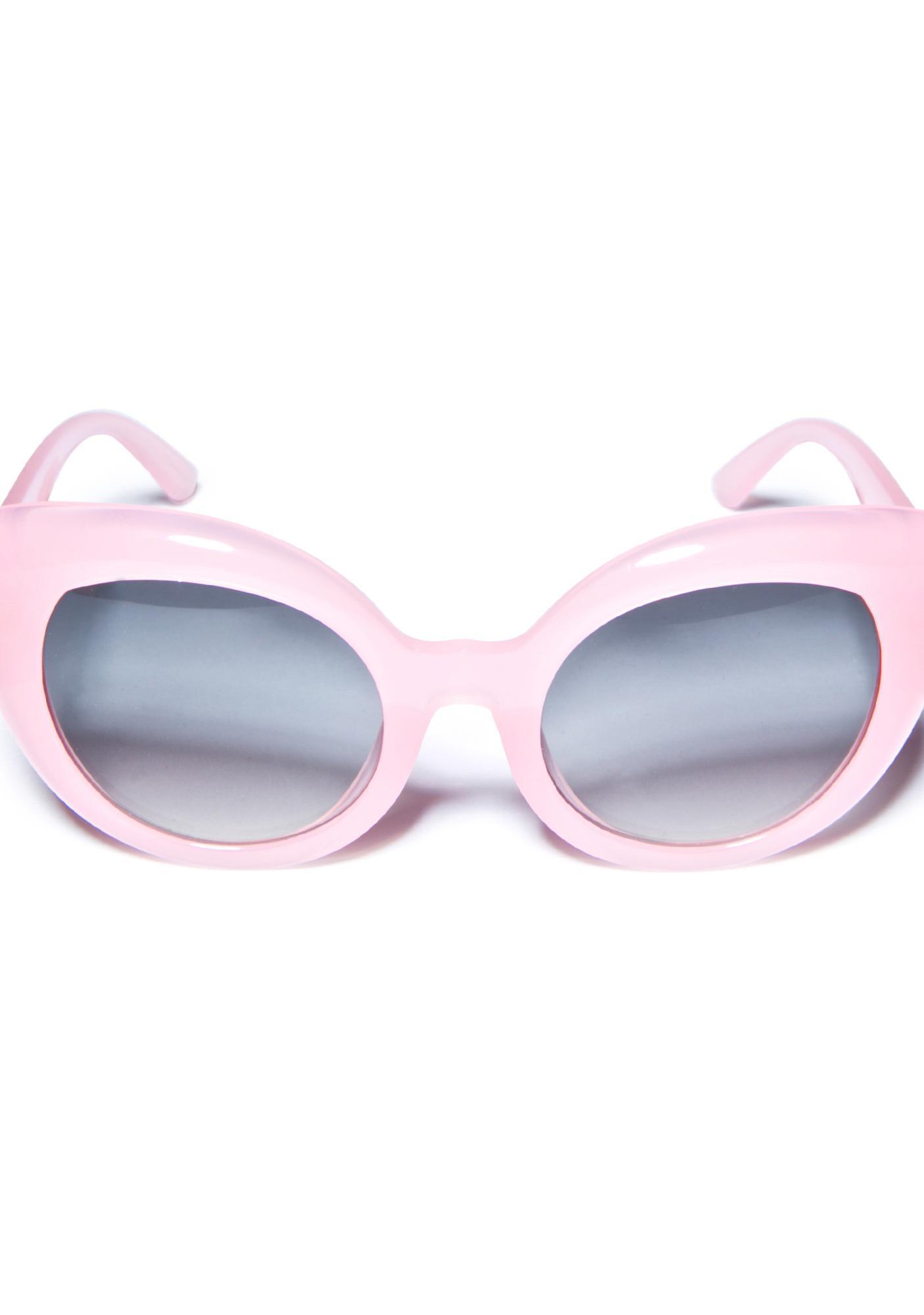 Crap Eyewear The Cotton Candy Diamond Brunch Sunglasses