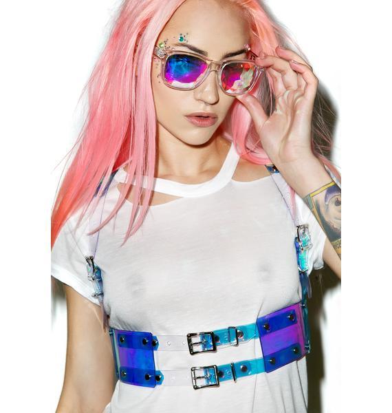 Apatico Hologram Gurl Harness Vest