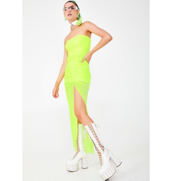 Kiki Riki Sour Solar Princess Maxi Dress