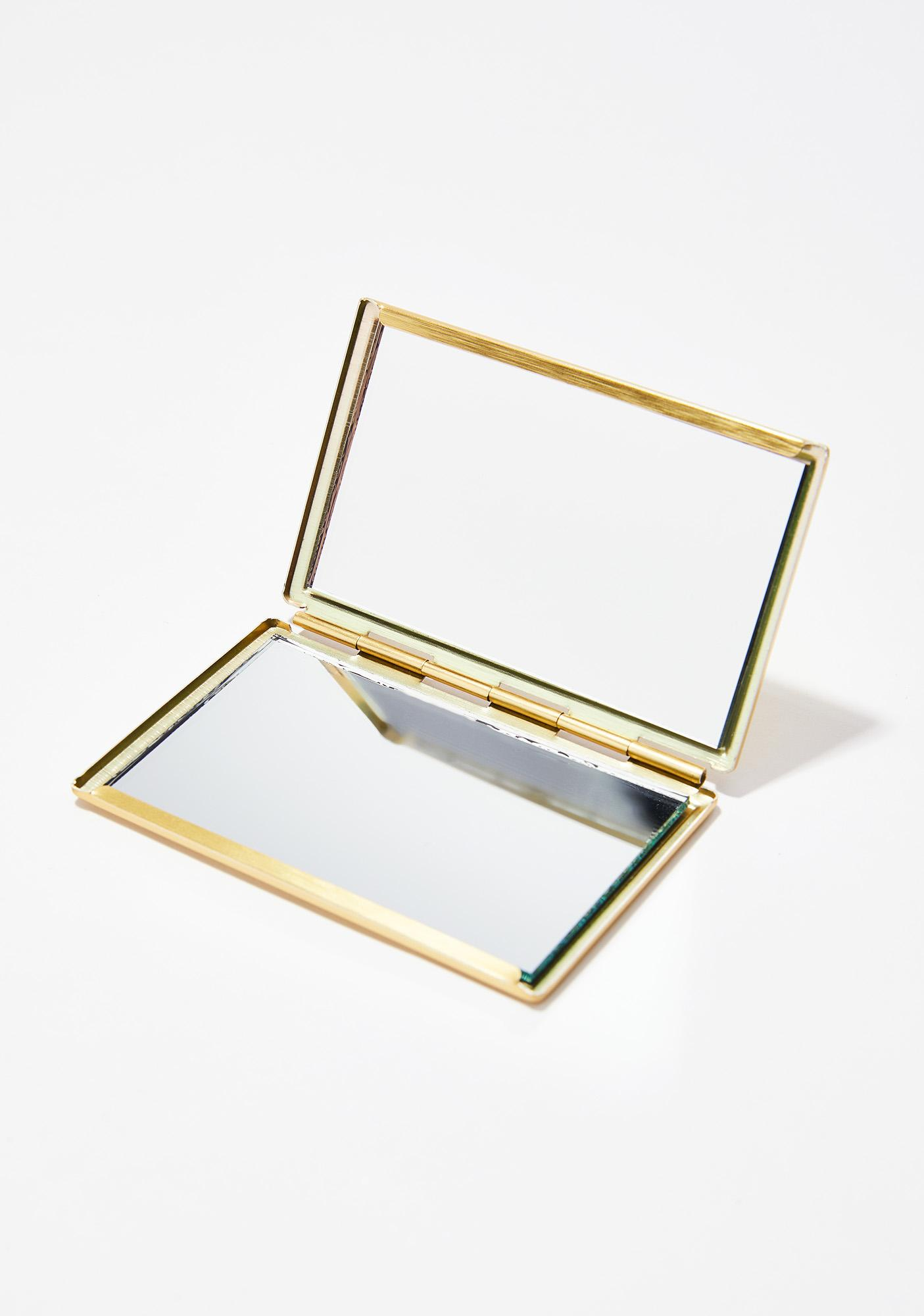 Lovability Inc. Your Vajesty Dual-Sided Compact Mirror