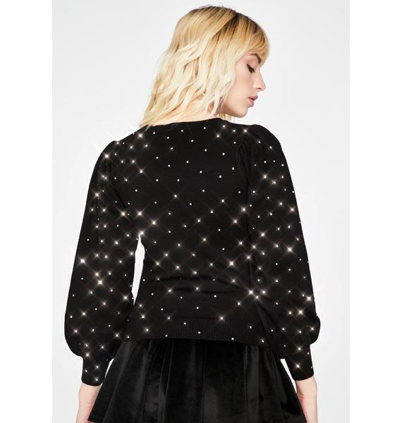 Elite Troubles Studded Sweater