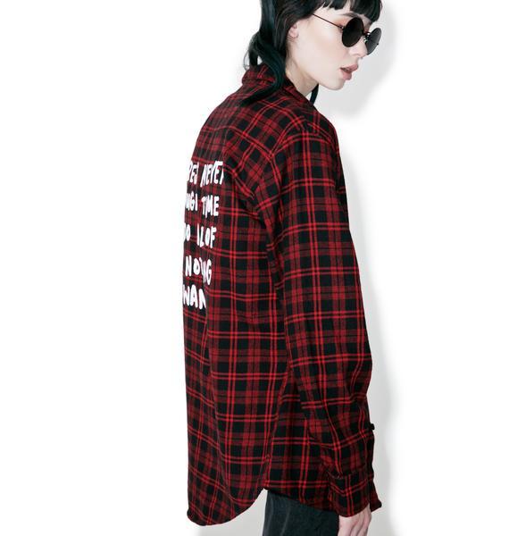 Jac Vanek Never Enough Flannel
