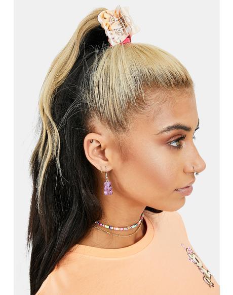 Sassy Kitty Hair Clip