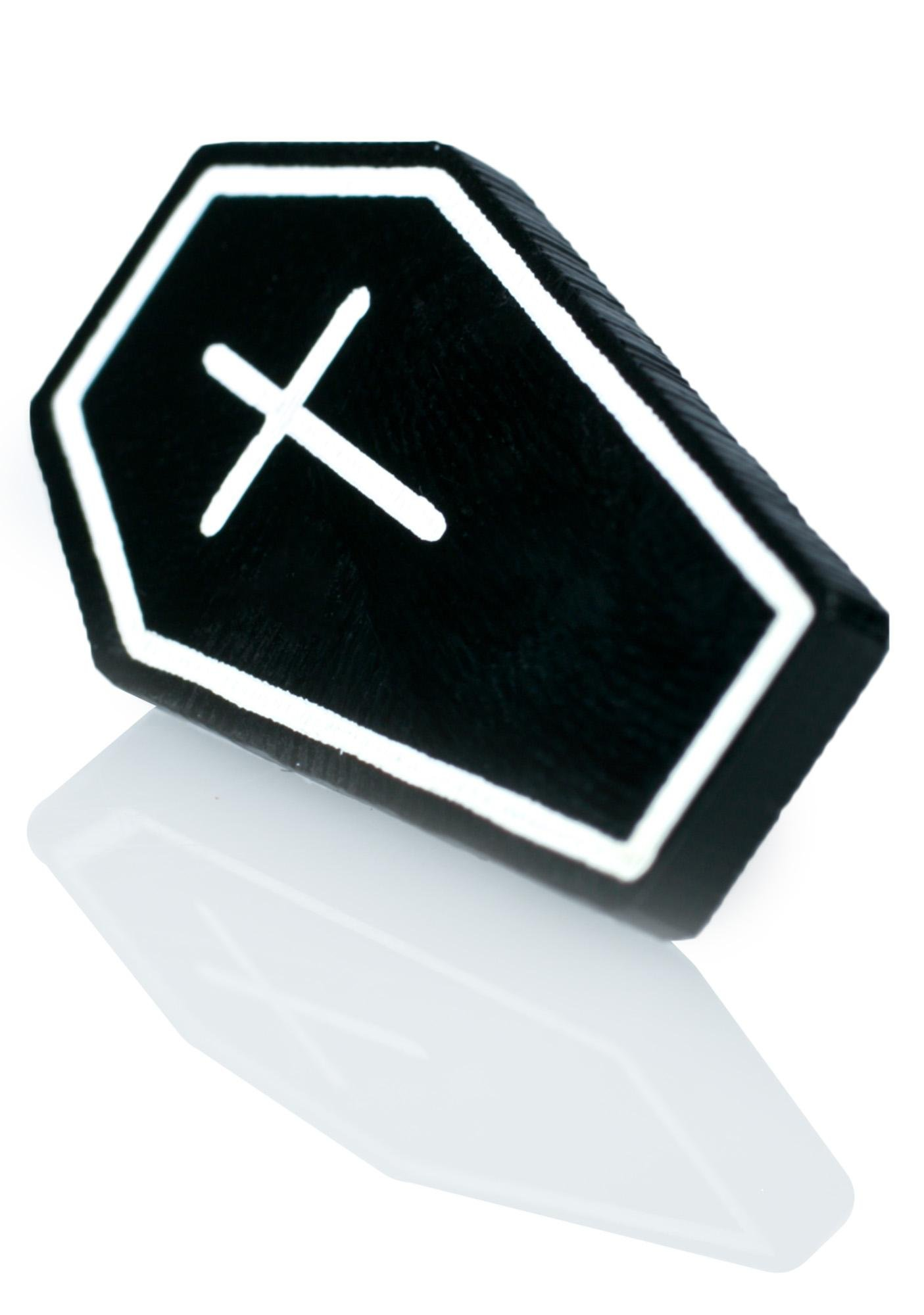 Witch Worldwide Coffin Pin