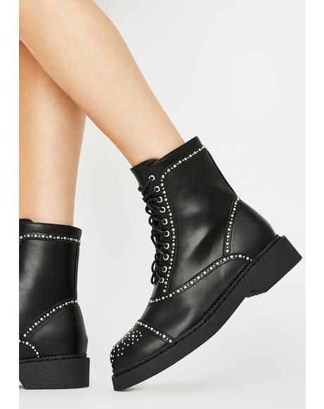 Thunderbolt Ankle Boots