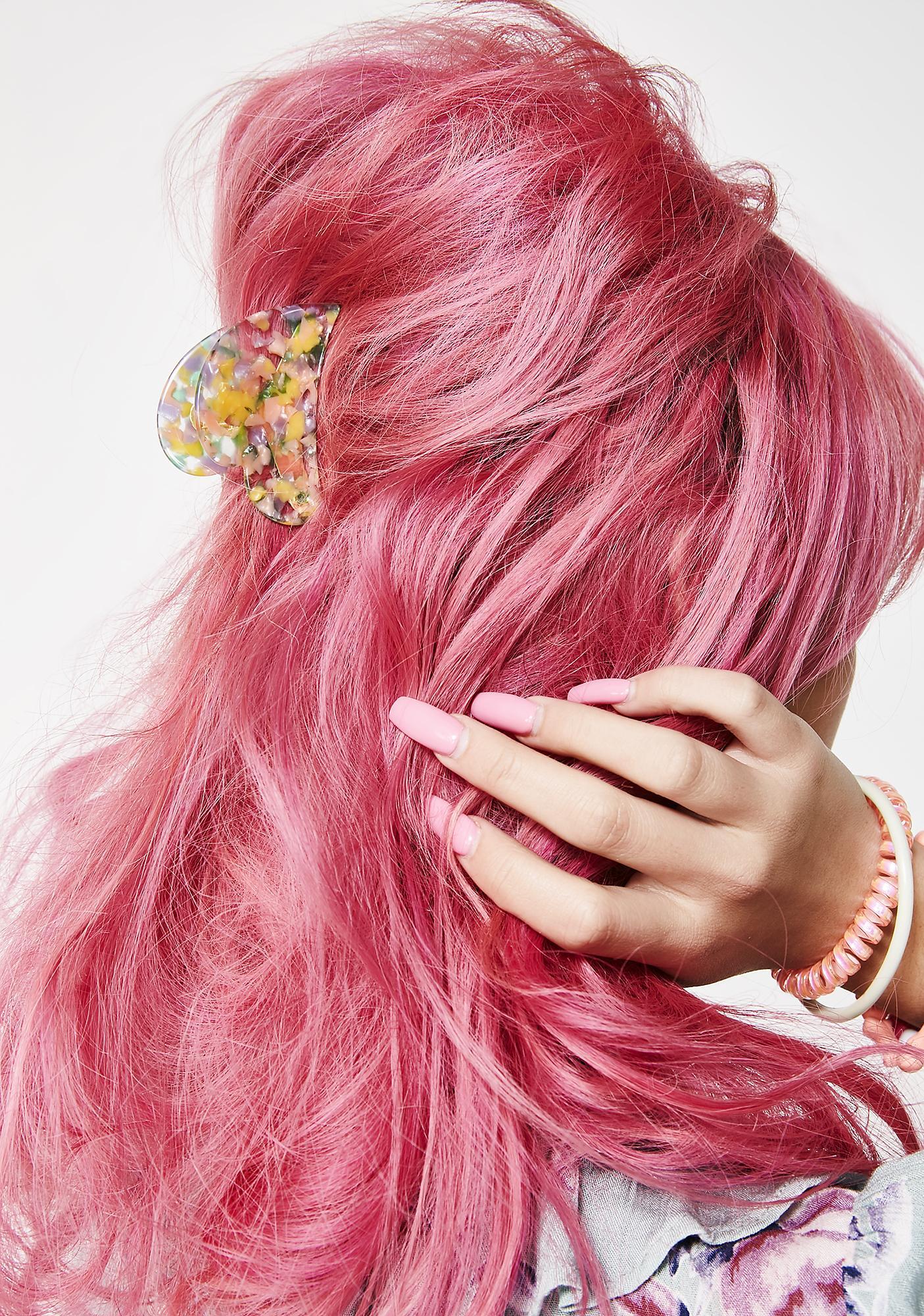 Confetti Droppin' Hair Clip