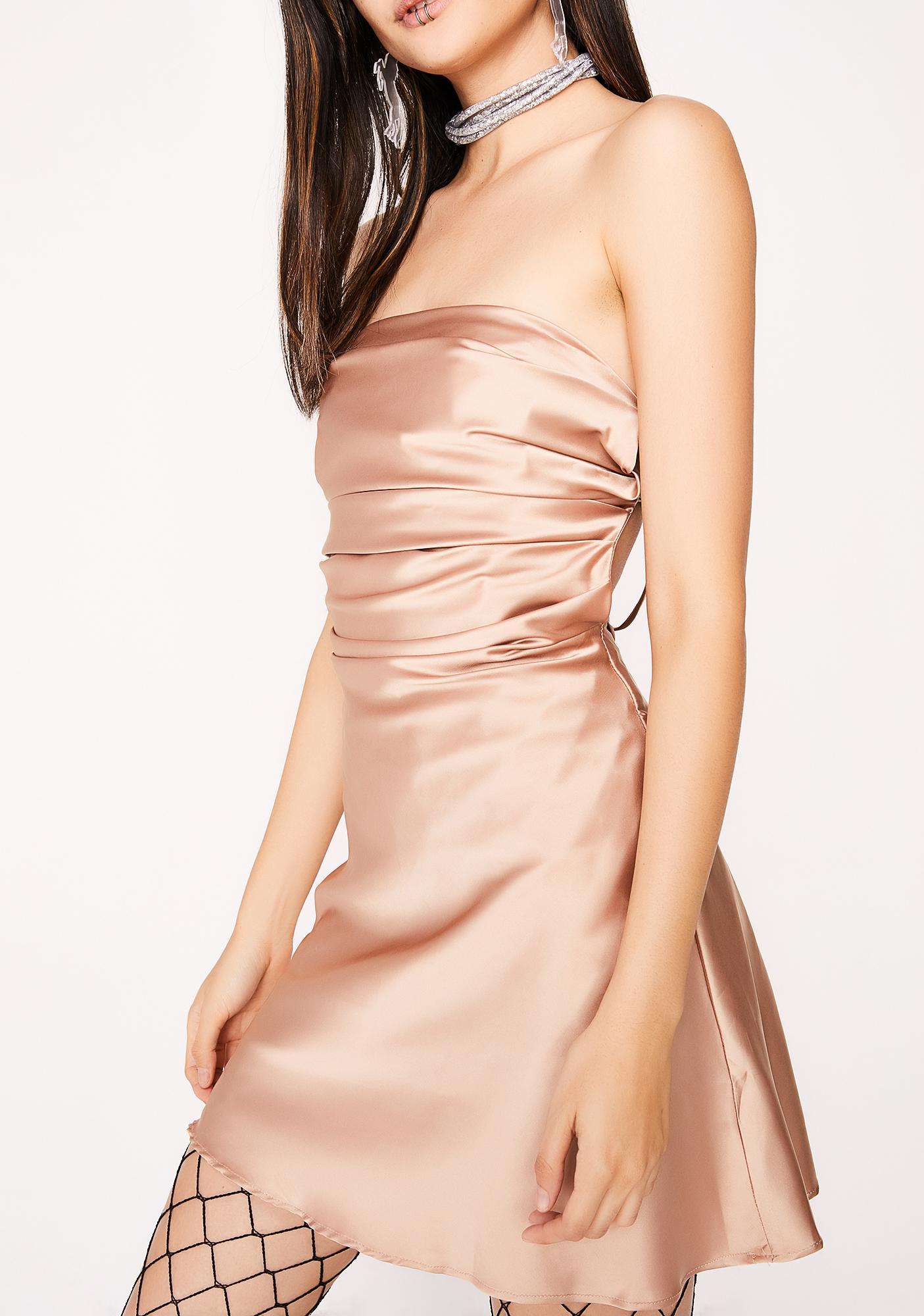 Silky Feel Dress