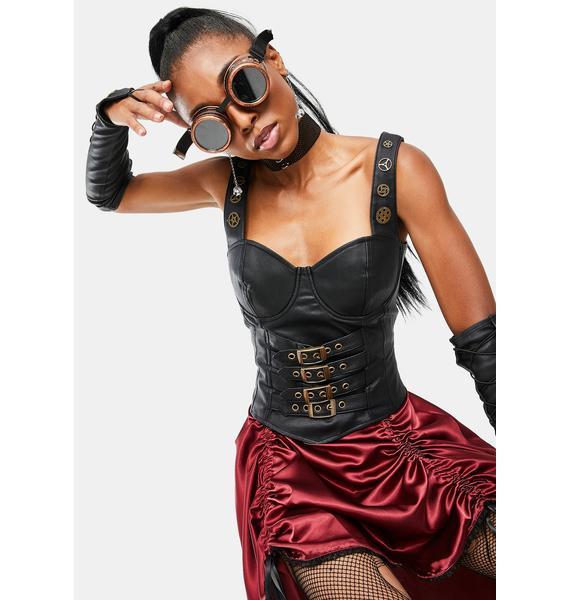 Trickz & Treatz Steampunk Stunna Costume