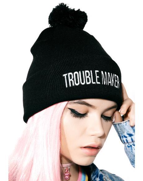 The Bonehead Bobble Hat