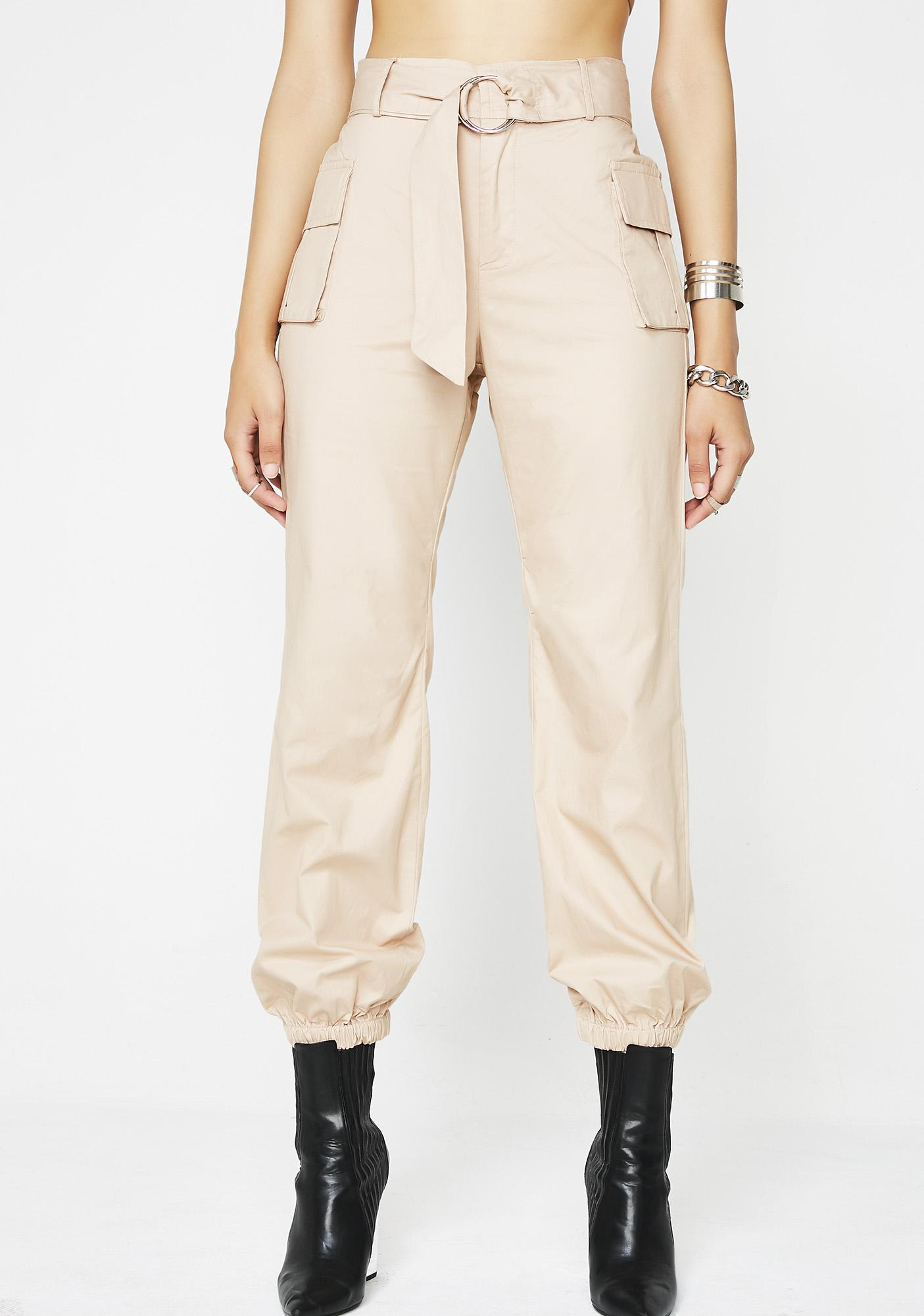 High Profile Cargo Pants by Blue Blush