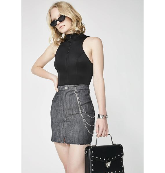 Serious Business Mini Skirt