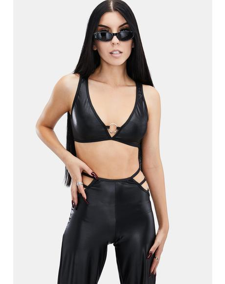 Vegan Leather At First Sight Pant Set