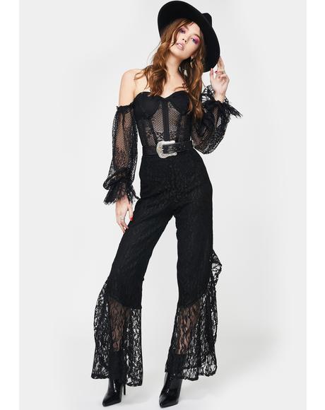Rogue Desire Lace Pants