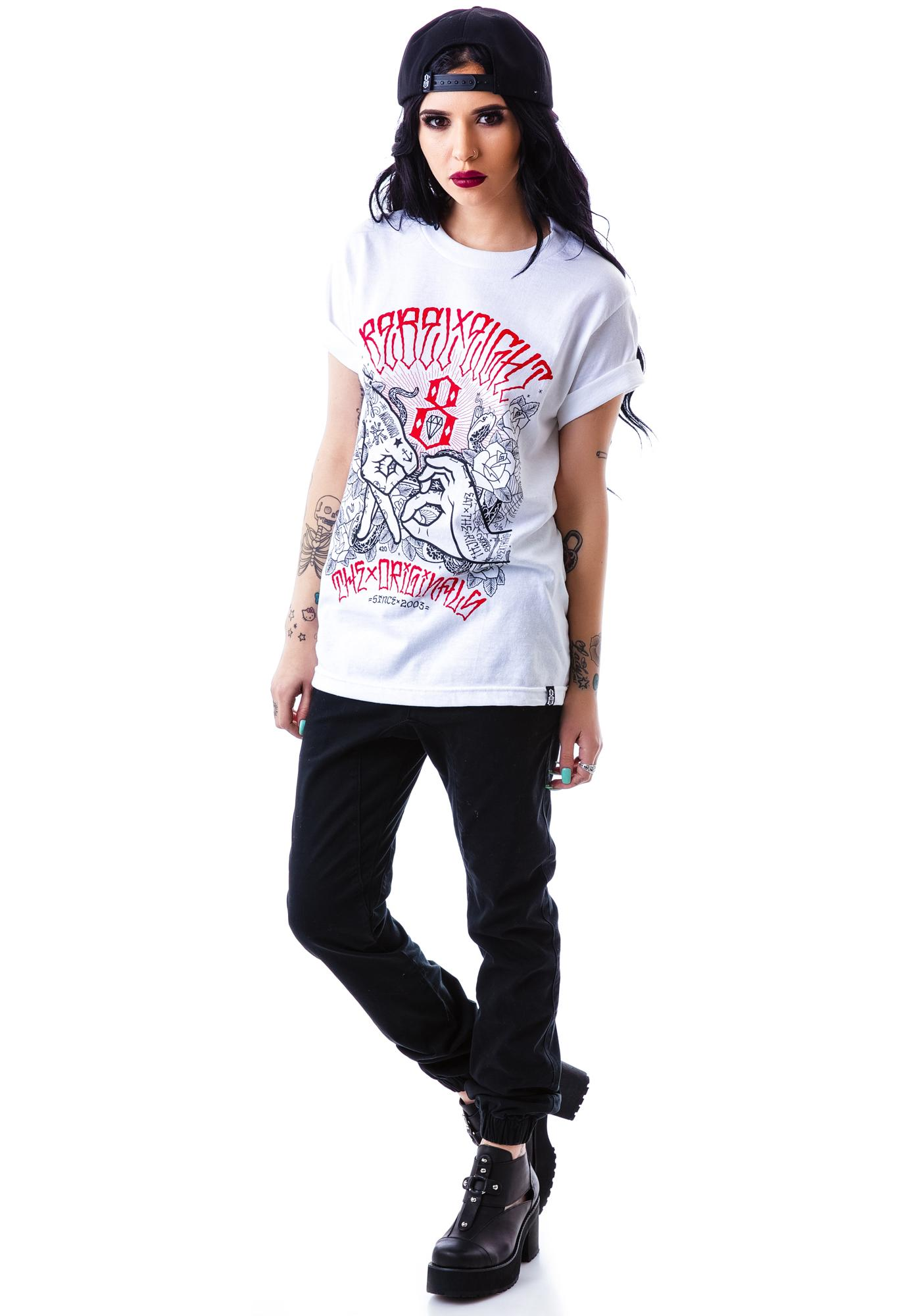 Rebel8 Hand Signs Tee