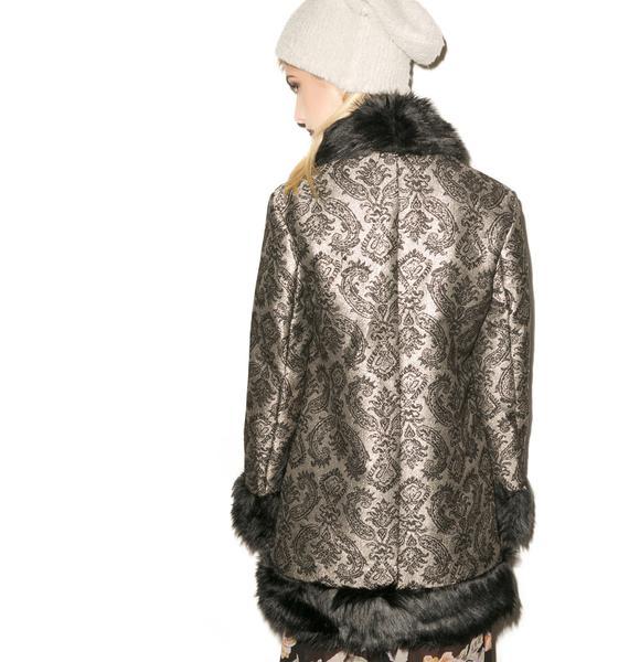 Mink Pink Good Luxe Coat
