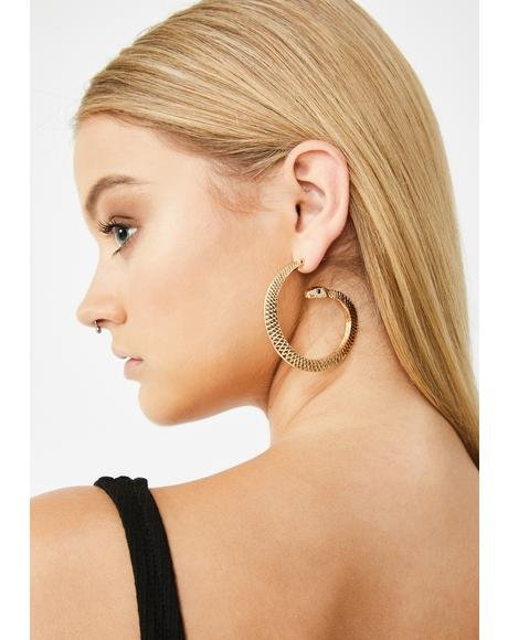 Hers N' Hissss Snake Earrings