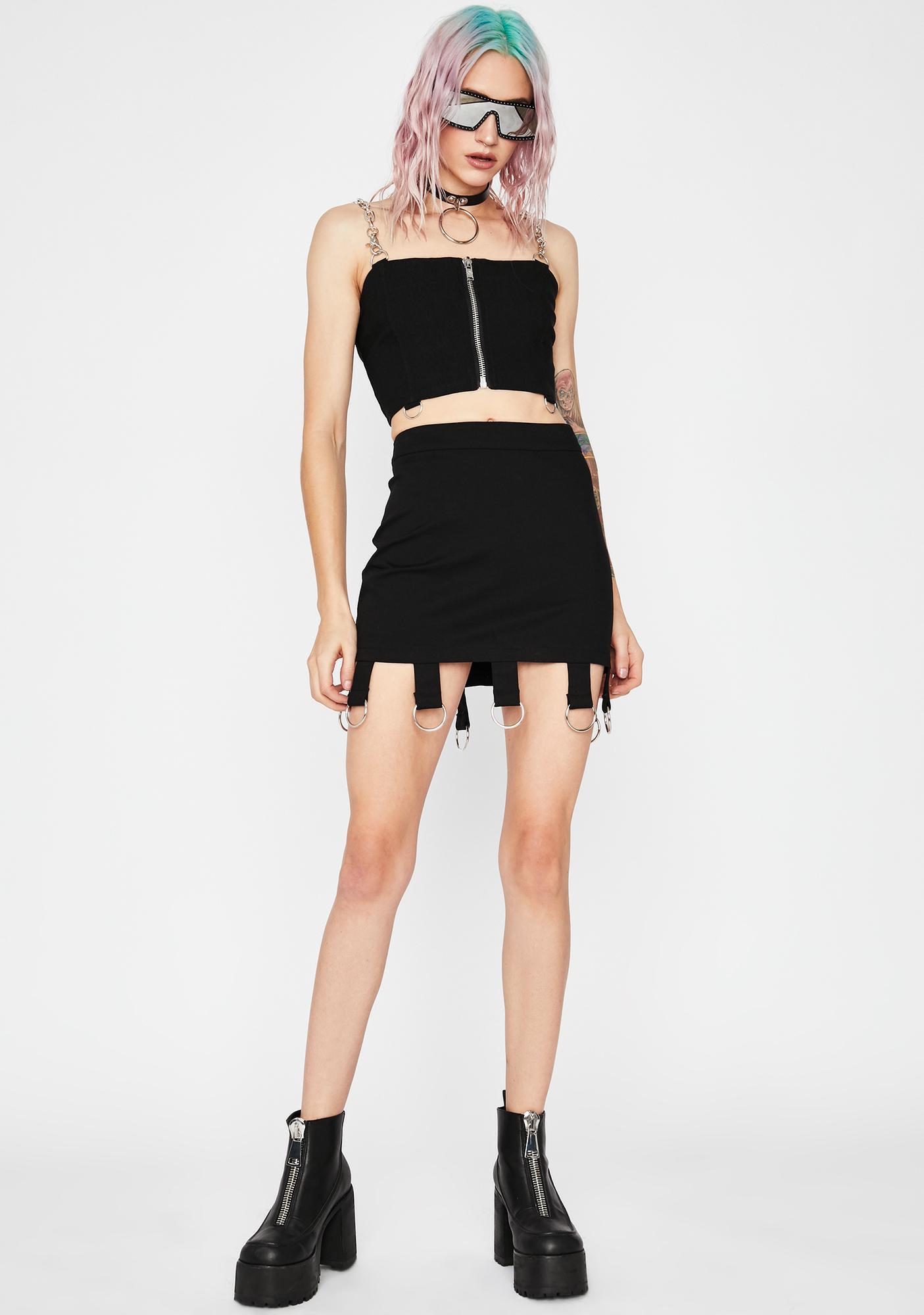 Current Mood Anti Hero O-Ring Skirt