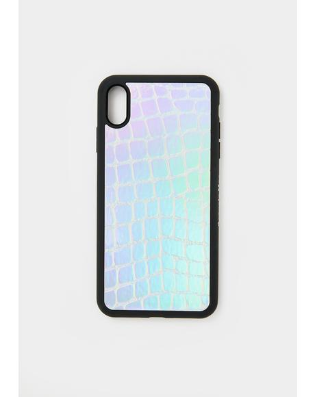 Holographic Croc IPhone Case
