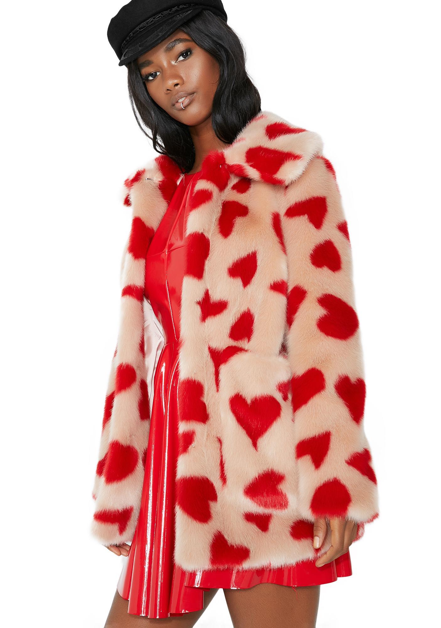 Jakke Hearts Tammy Coat