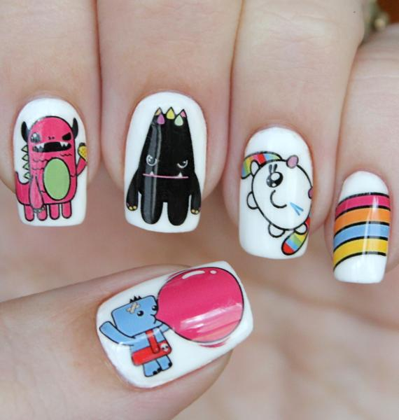 Nail Pop X So So Happy Water Slide Nail Decals
