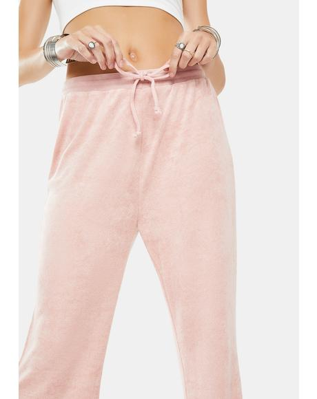 Comfy Velour Sweatpants