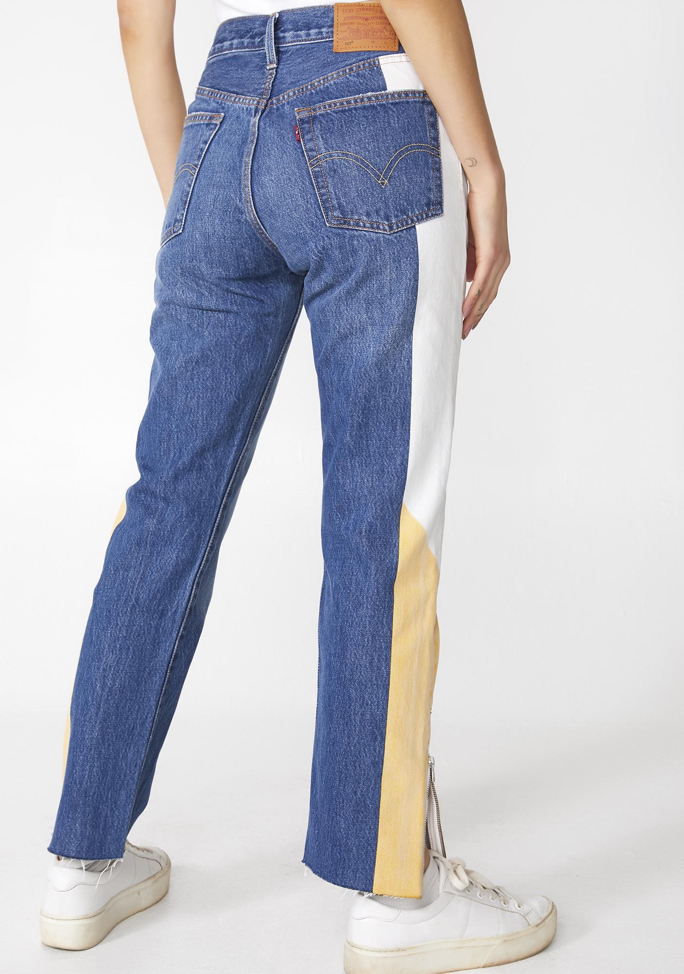 Levis 501 Original Moto Jeans