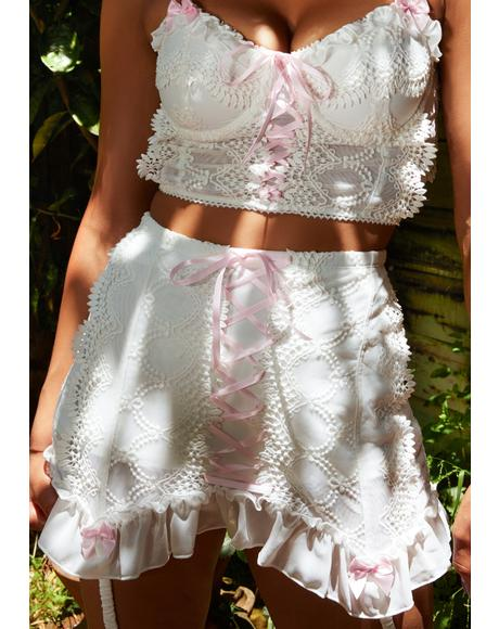 Sincerely Yours Skirt Set