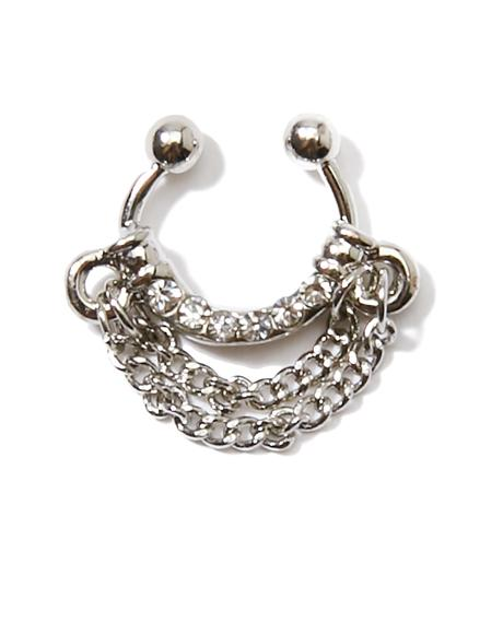 Get Back Chain Septum Ring