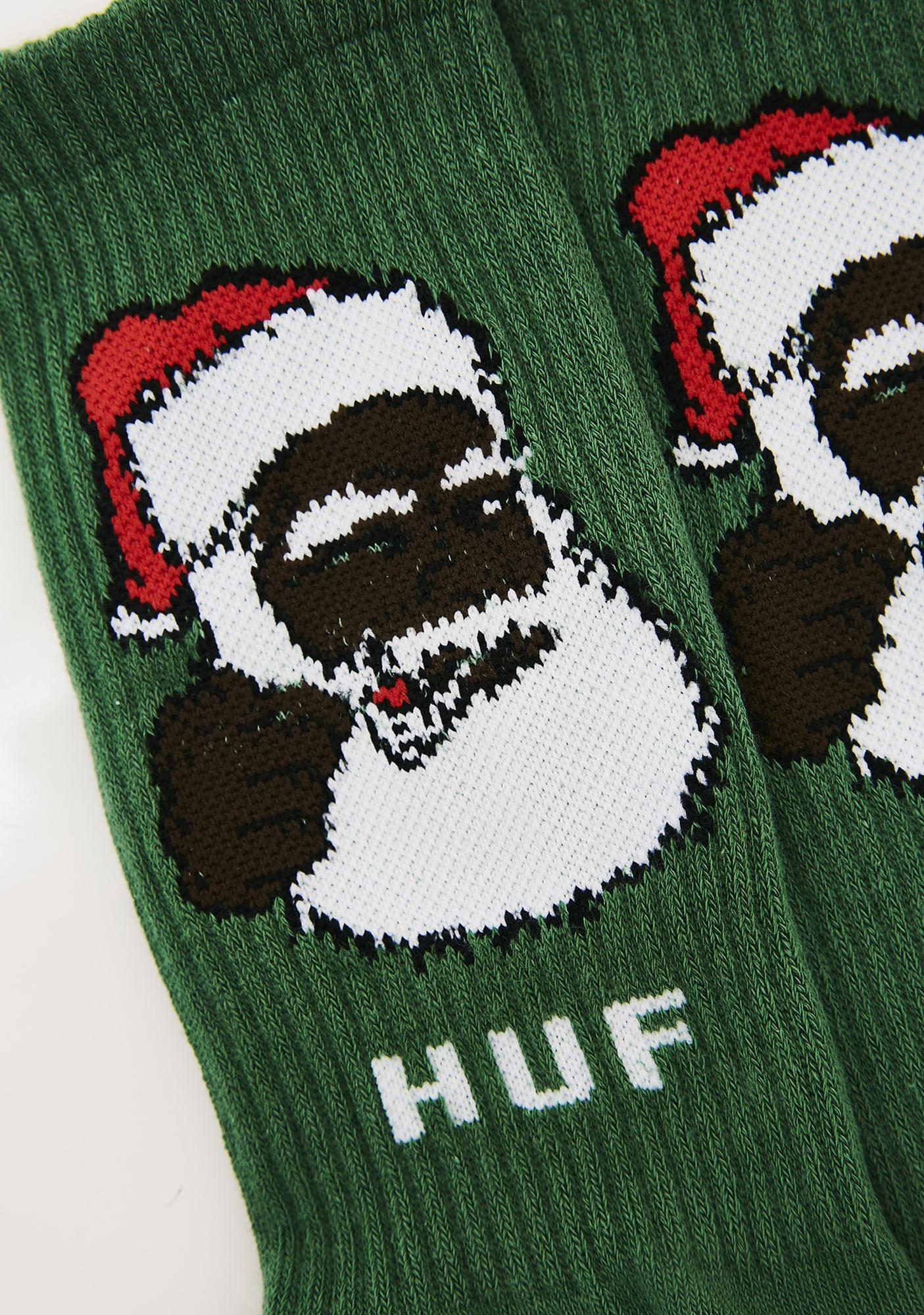 HUF December Dudes Series Socks