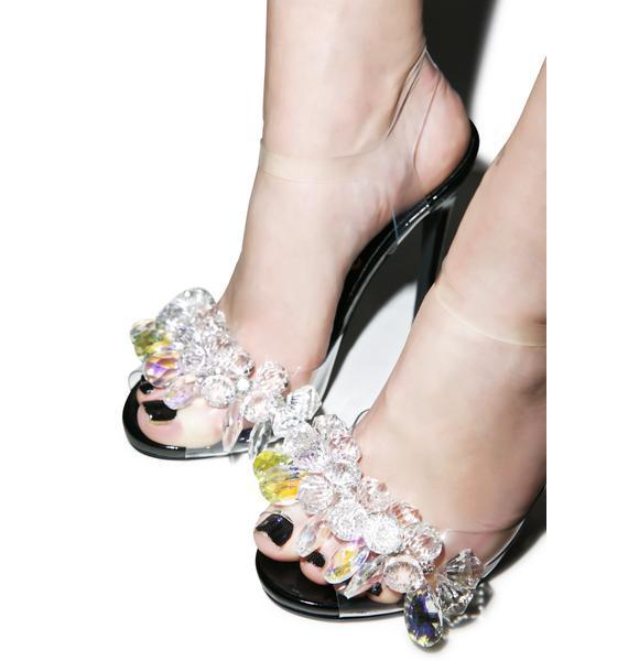 Privileged Princess Golden Heels