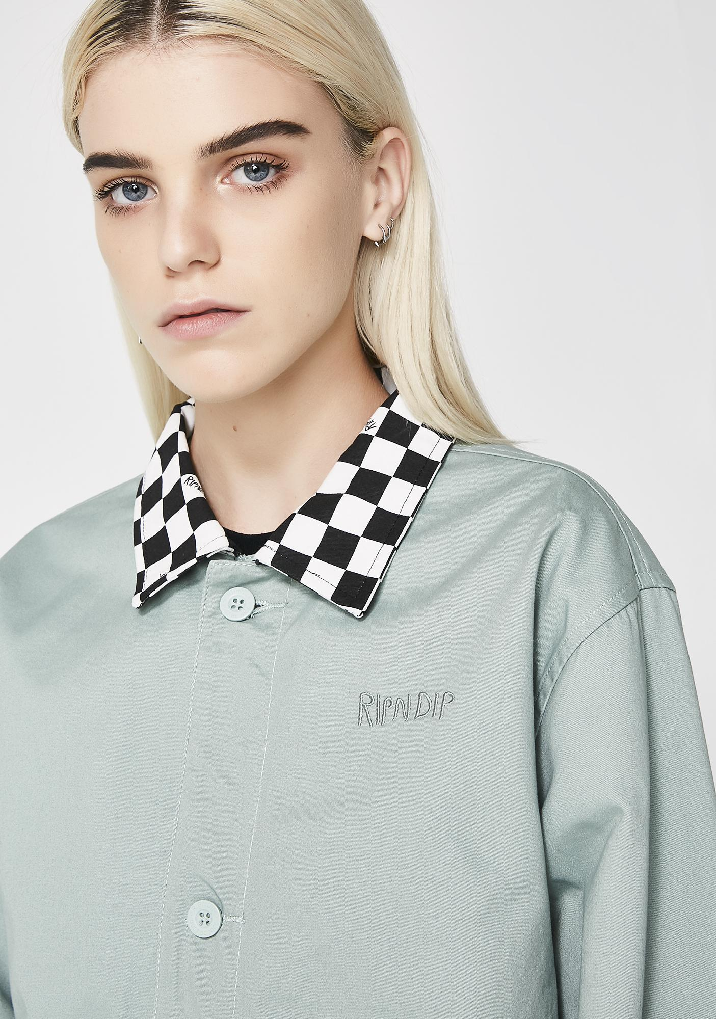 RIPNDIP Finish Line Twill Work Jacket